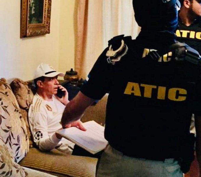 Por segunda vez, niegan medidas sustitutivas a comisionado  policial Leonel Sauceda procesado por lavado de activos