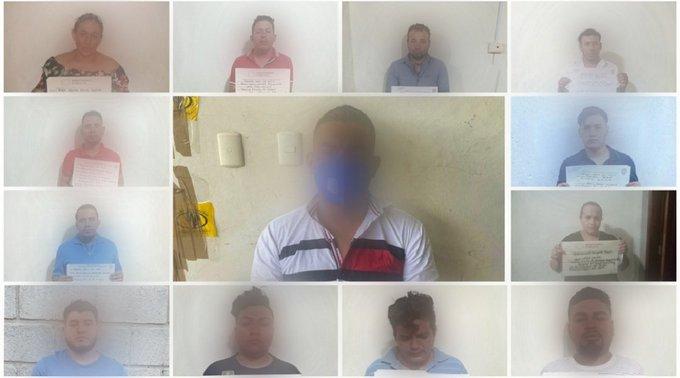 Prisión Preventiva contra 14 integrantes de organización distribuidora de drogas en la capital capturados  en #OperaciónOctopus