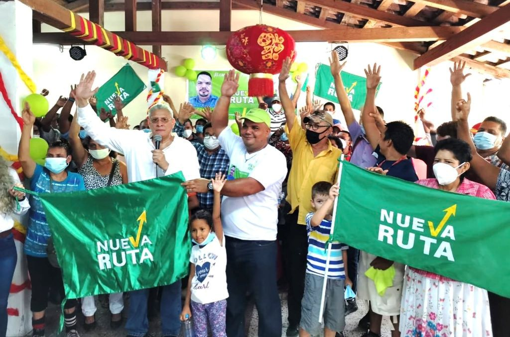 «Partido Nueva Ruta» realizó numerosa caravana política en la zona sur de Honduras