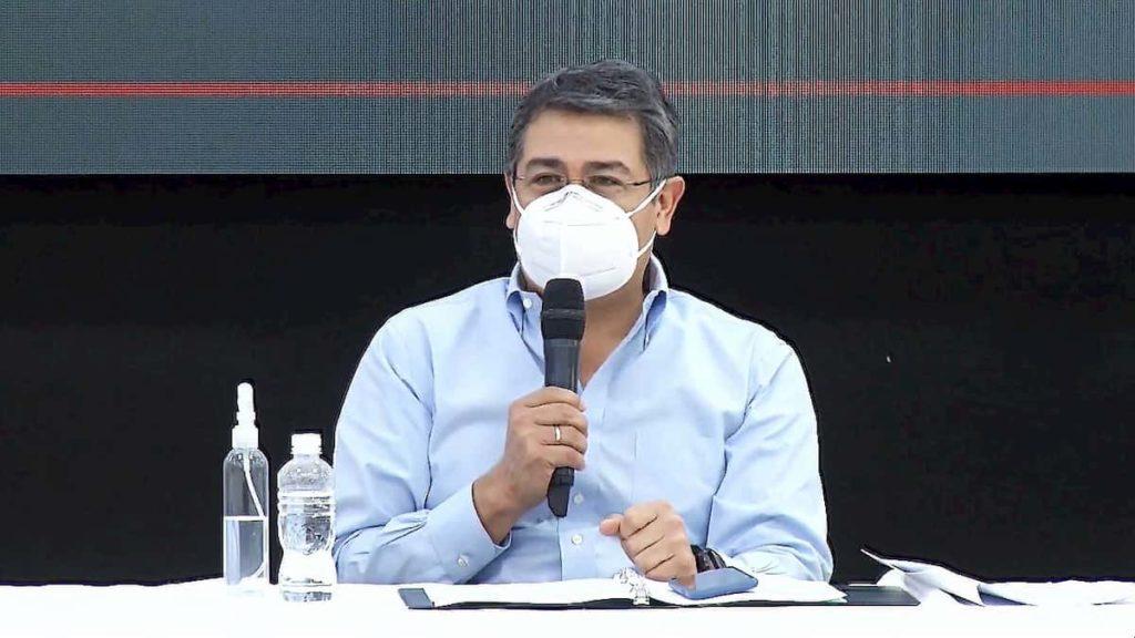 Mandatario hondureño: «Logramos un acuerdo con los bancos para salvar y reactivar las mipymes»