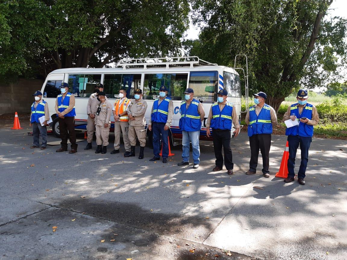 Comienza la inspección de unidades de transporte ante feriado morazánico en La Ceiba y SPS