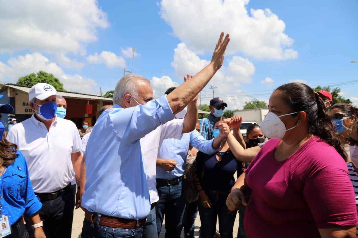 Mauricio Oliva prometió hacer de SPS la mejor ciudad de Honduras y Centroamérica