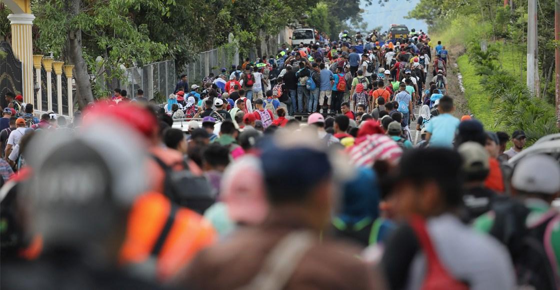 6 migrantes hondureños deciden no seguir con el viaje a EEUU y retornan a Honduras de manera voluntaria
