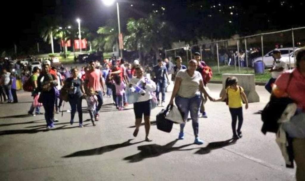 Nueva caravana de migrantes parte de San Pedro Sula rumbo a EEUU