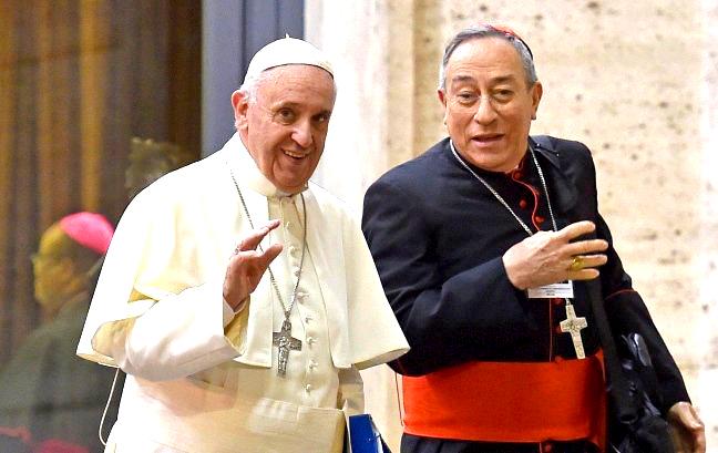 Papa Francisco  confirma como coordinador del Consejo de Cardenales al hondureño Óscar Rodríguez