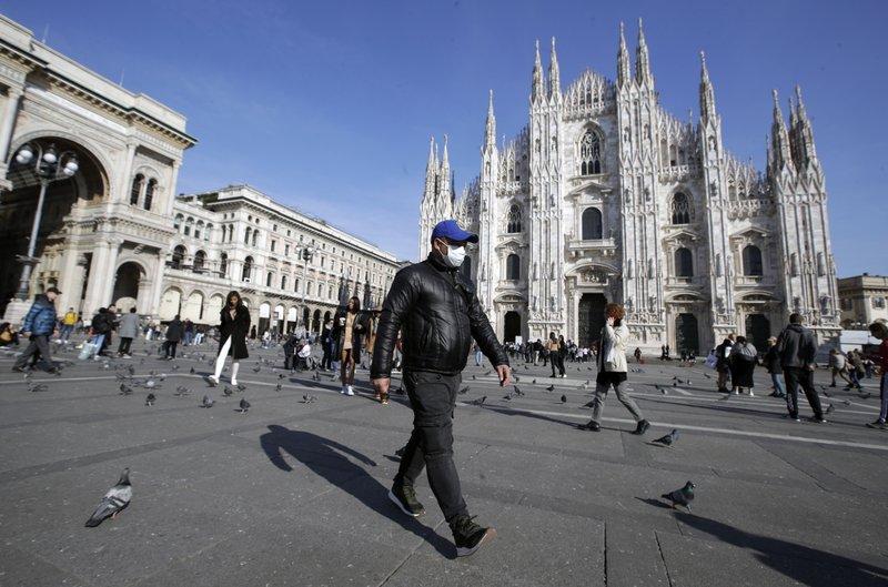 Italia advierte que endurecerá los confinamientos si no existe una baja en la cantidad de casos