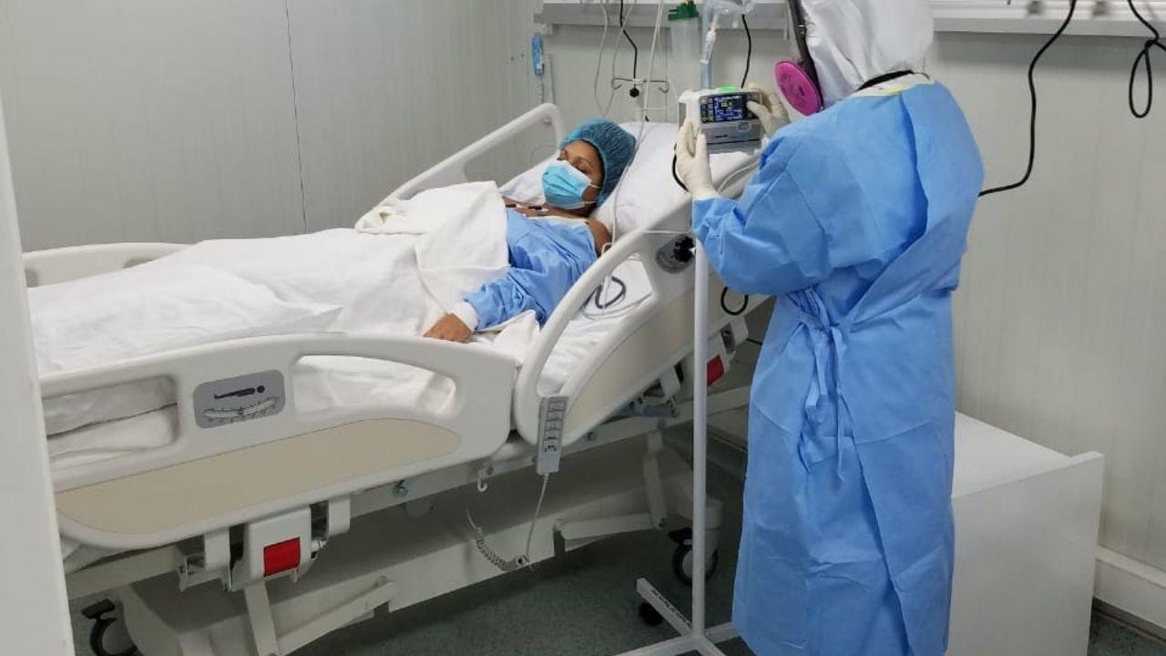 Trasladan los primeros pacientes de covid-19 al hospital móvil de SPS