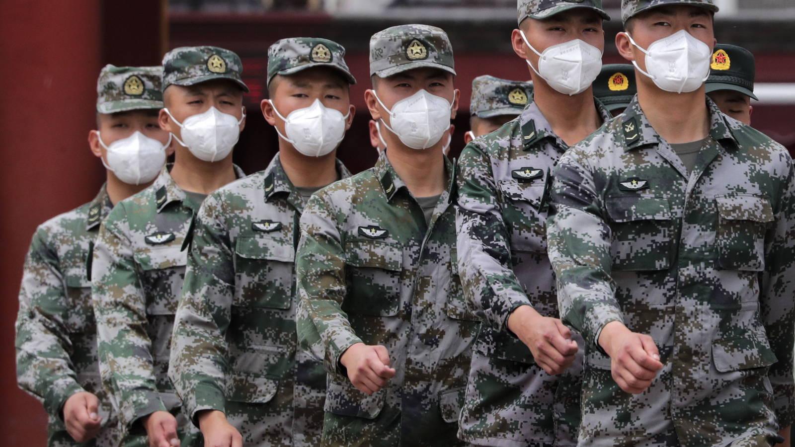China llama a sus soldados a prepararse para la guerra