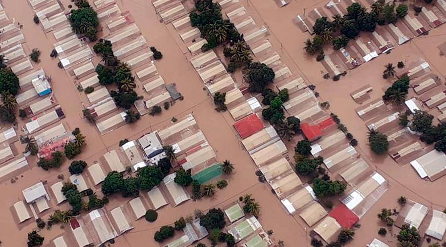 Eta y Covid-19 dejan muerte, destrucción y pérdidas millonarias en Honduras