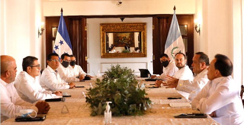 Gobernantes de Guatemala, Nicaragua y Costa Rica avalan iniciativa del presidente Hernández para reconstrucción regional