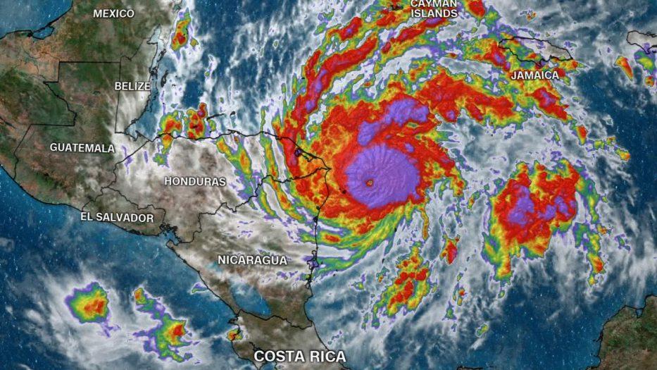 Señala experto de la UNAH  Eta podría volver a convertirse en huracán al regresar al Atlántico
