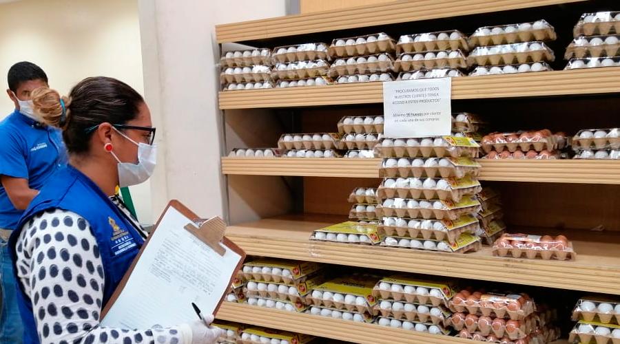 Protección al Consumidor:  «Comerciantes respetan estabilización de precios»