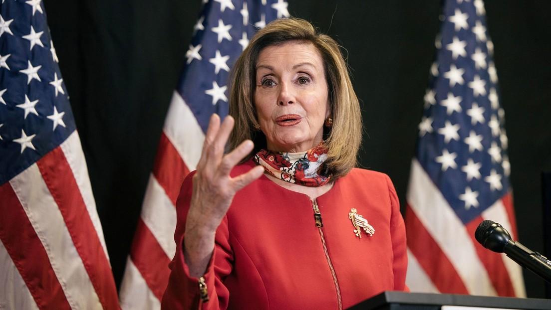 Nancy Pelosi: «El día de hoy marca el amanecer de un nuevo día de esperanza para Estados Unidos»