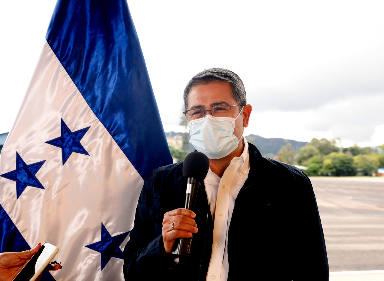 Presidente Hernández agradece a Colombia  por ayuda humanitaria para Honduras