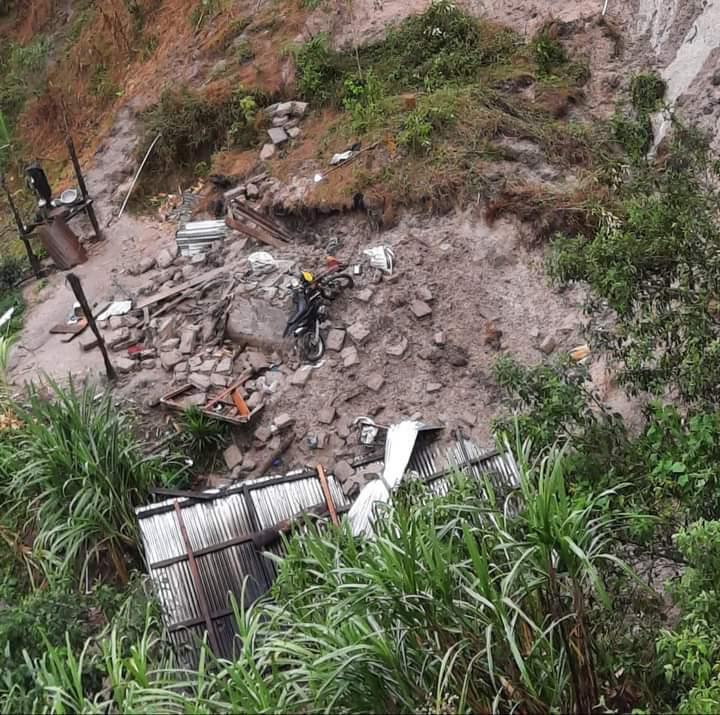 ¡TRAGEDIA!  Cinco miembros de una familia mueren soterrados en Ocotepeque