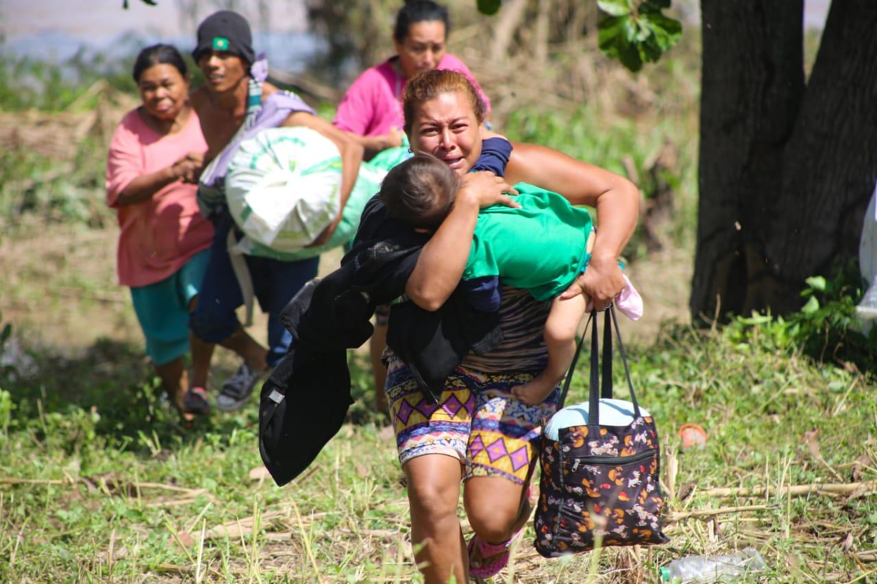 Operación No Están Solos: Más de 6.000 rescates realizados y 13.000 libras de ayuda entregadas a afectados en riberas de Ulúa y Chamelecón