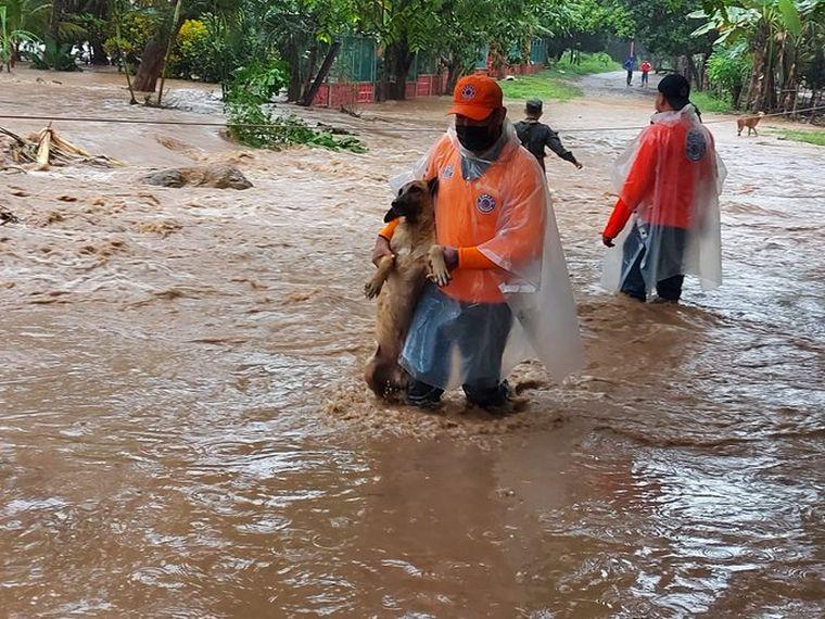 Ante huracán Iota: 35,000 efectivos están diseminados a nivel nacional para dar respuesta inmediata a la población