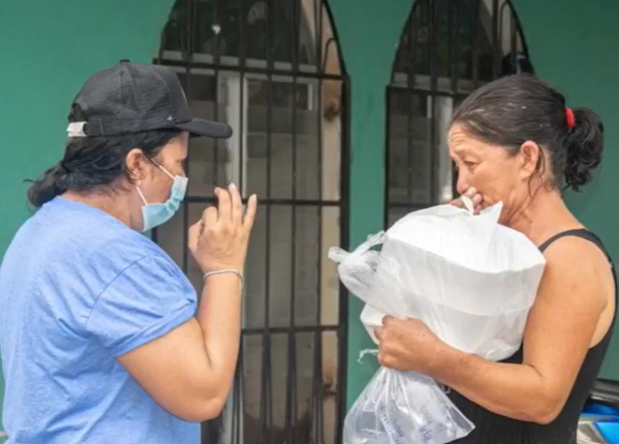 Operación Frijol realiza ardua labor para beneficiar a los afectados por ETA