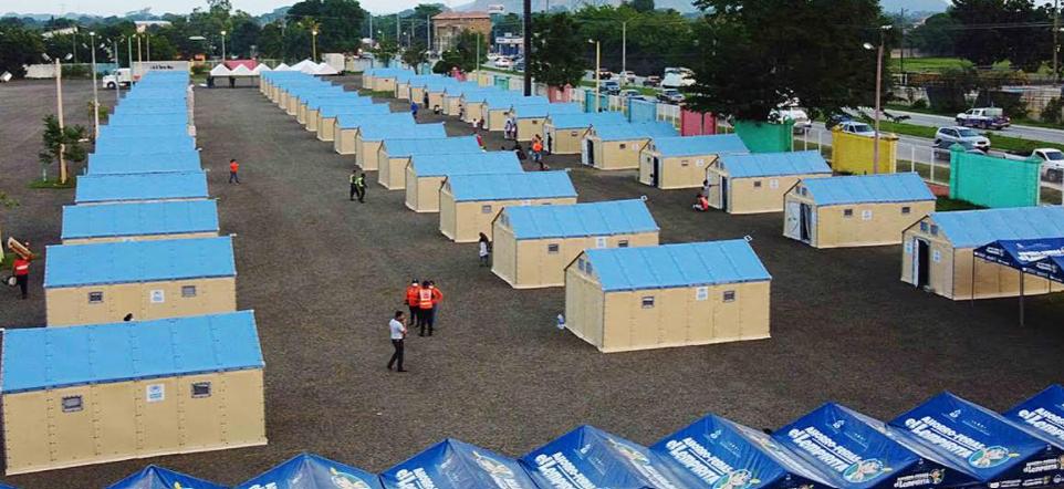 Más de 200 personas reciben atención integral y con dignidad en albergue de casas móviles en SPS