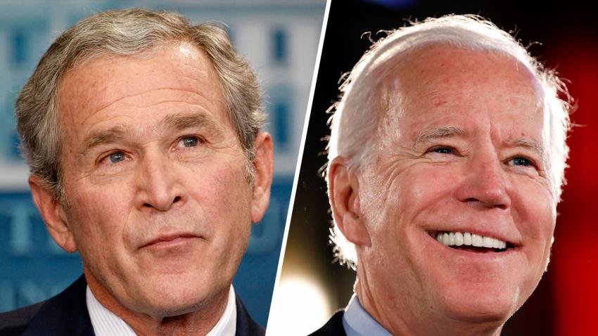 Ex presidente George Bush felicita a  Joe Biden por ganar elecciones en EEUU  y respalda el resultado