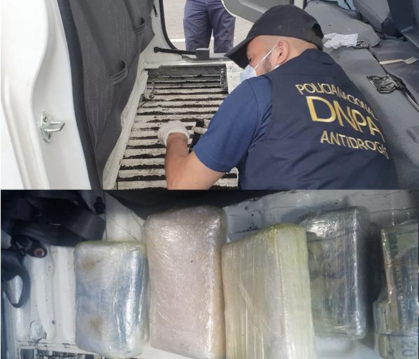 En posesión de tres kilos de drogas y más de 200 mil dólares capturan a sujeto en el país