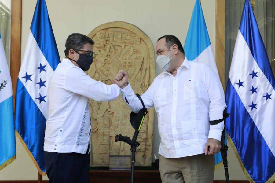 Guatemala apoya iniciativa de Honduras de buscar juntos los Fondos Verdes para erradicación de problemas por el cambio climático
