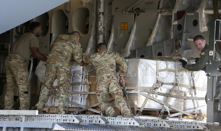 EEUU enviará 180 toneladas de ayuda humanitaria a Honduras en los próximos días