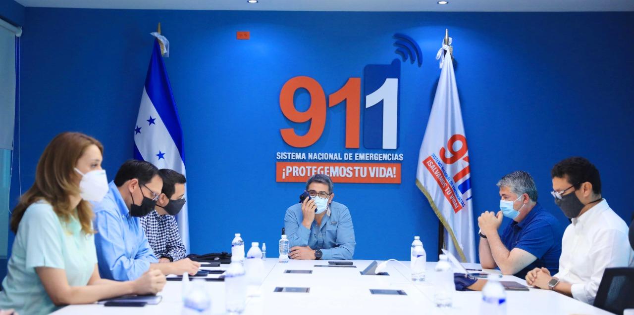 JOH solicita al primer ministro de Israel apoyo para el proceso de reconstrucción nacional