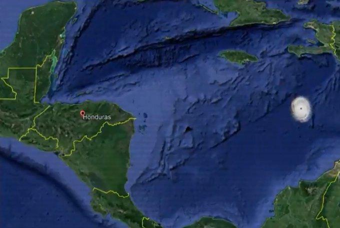 Iota ingresaría como huracán el domingo o lunes al país