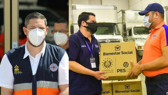 Copeco será el ente que distribuirá las donaciones que envió El Salvador