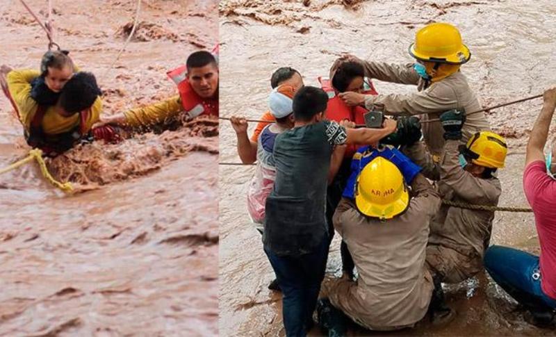 Oscar Triminio: «Gracias a la labor del Cuerpo de Bomberos las muertes por Eta no fueron tan elevadas»
