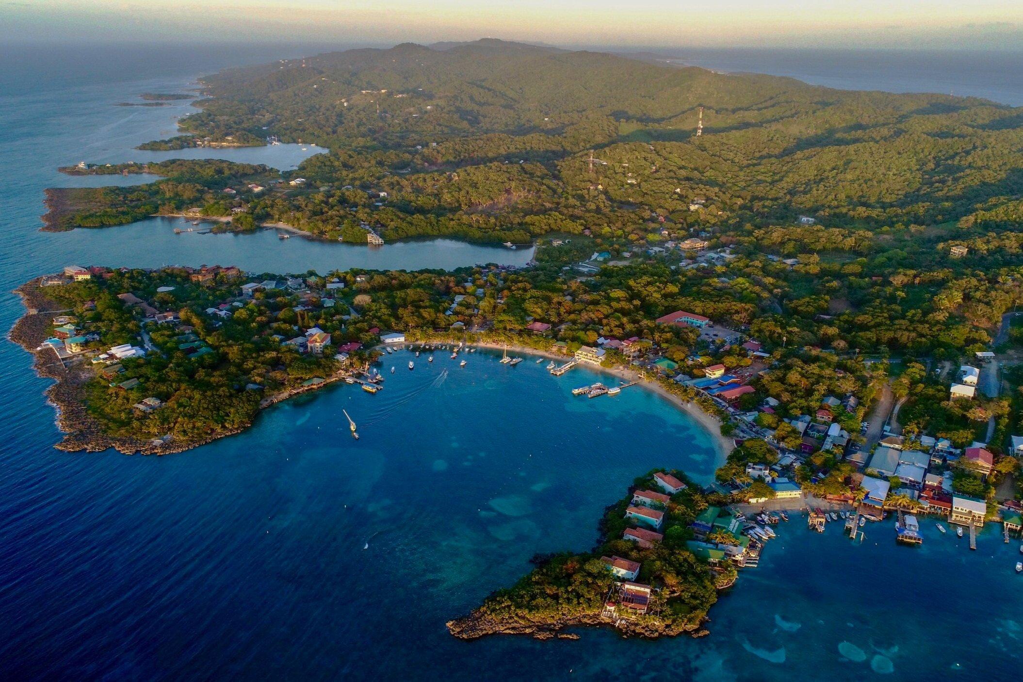 Roatán un paraíso terrenal en el Caribe hondureño