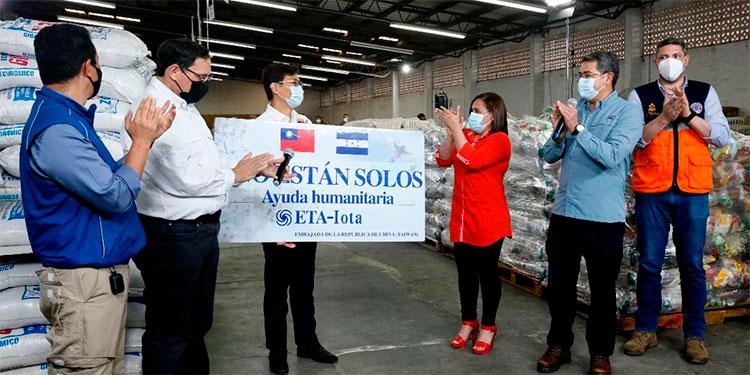 Taiwán dona tres millones de dólares para brindar ayuda humanitaria a afectados por tormentas Eta y Iota