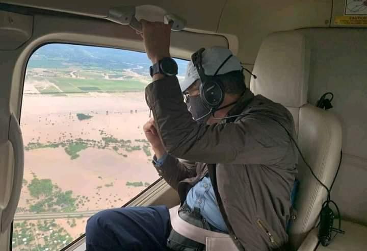 Presidente Hernández felicita a pilotos de FAH y les pide rescatar hasta el último hondureño de zonas de riesgo