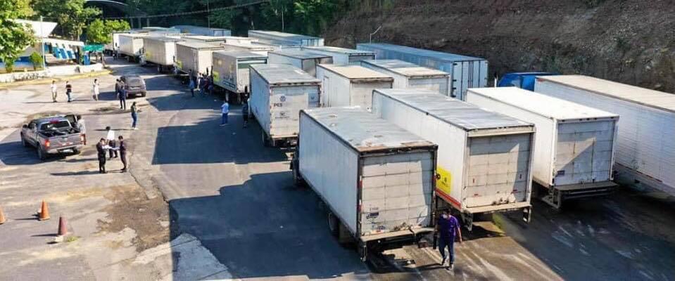 Llega a Honduras caravana humanitaria de El Salvador con ayuda para los afectados por Eta