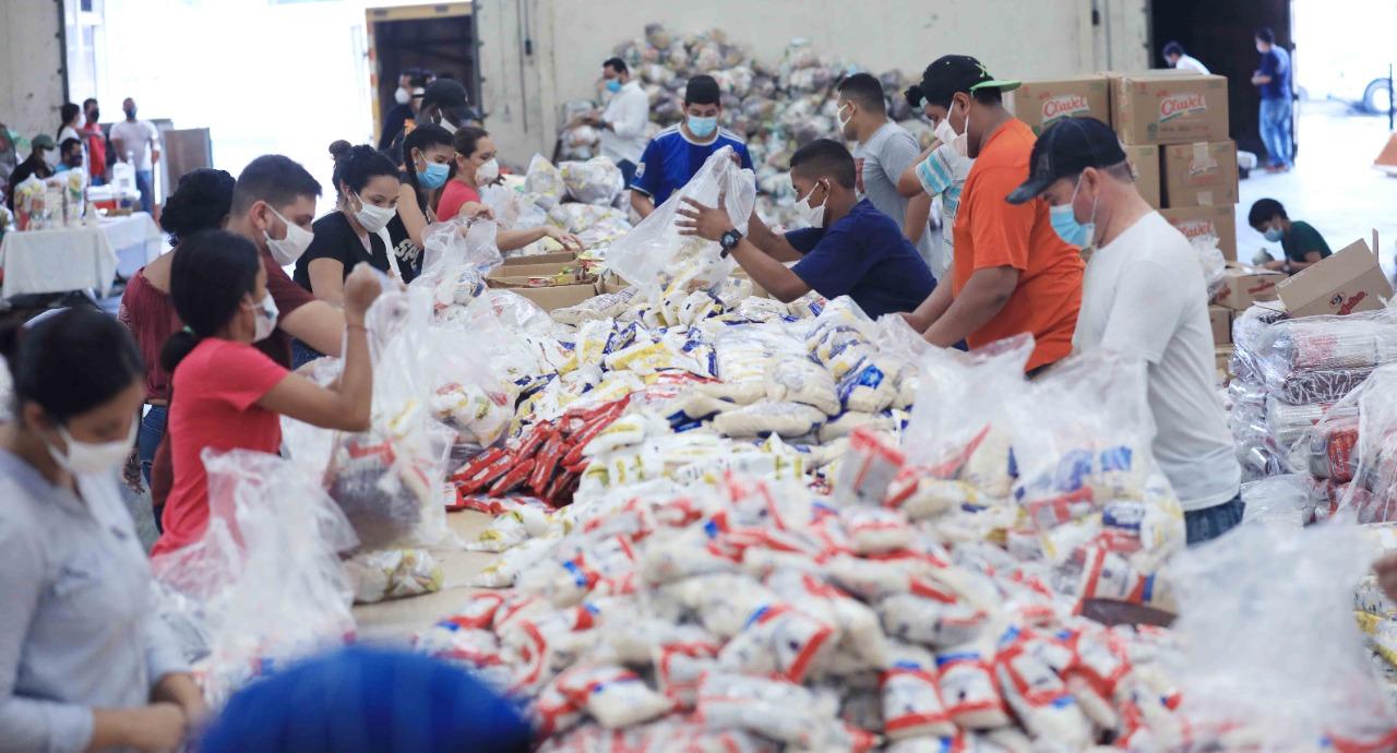 Gobierno distribuirá 30.000 bolsas de alimentos a nivel nacional a afectados por lluvias