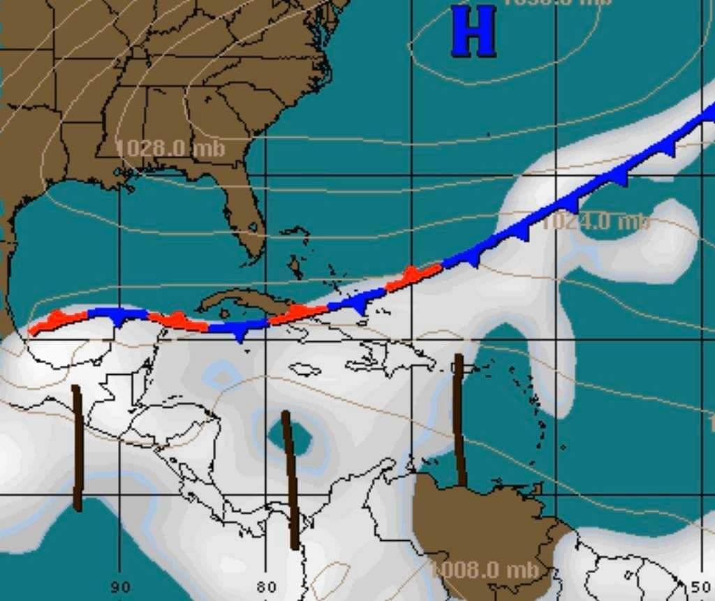 Copeco anuncia la llegada de una «cuña de alta presión» que dejaría lluvias en la zona norte del país