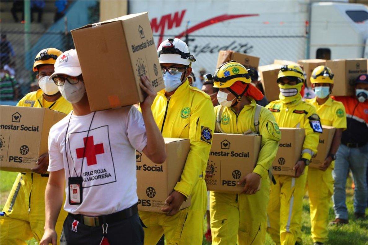 Cruz Roja: «Celebramos aprobación de Ley que Facilita Ingreso de Asistencia Humanitaria»