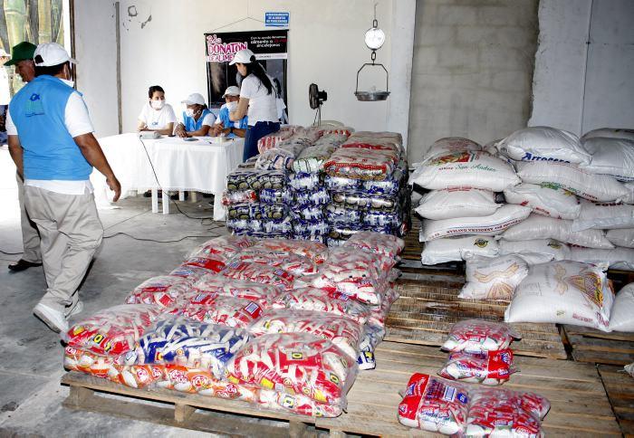 Programa Mundial de Alimentos enviará 1500 toneladas de víveres  a hondureños  afectados por ETA