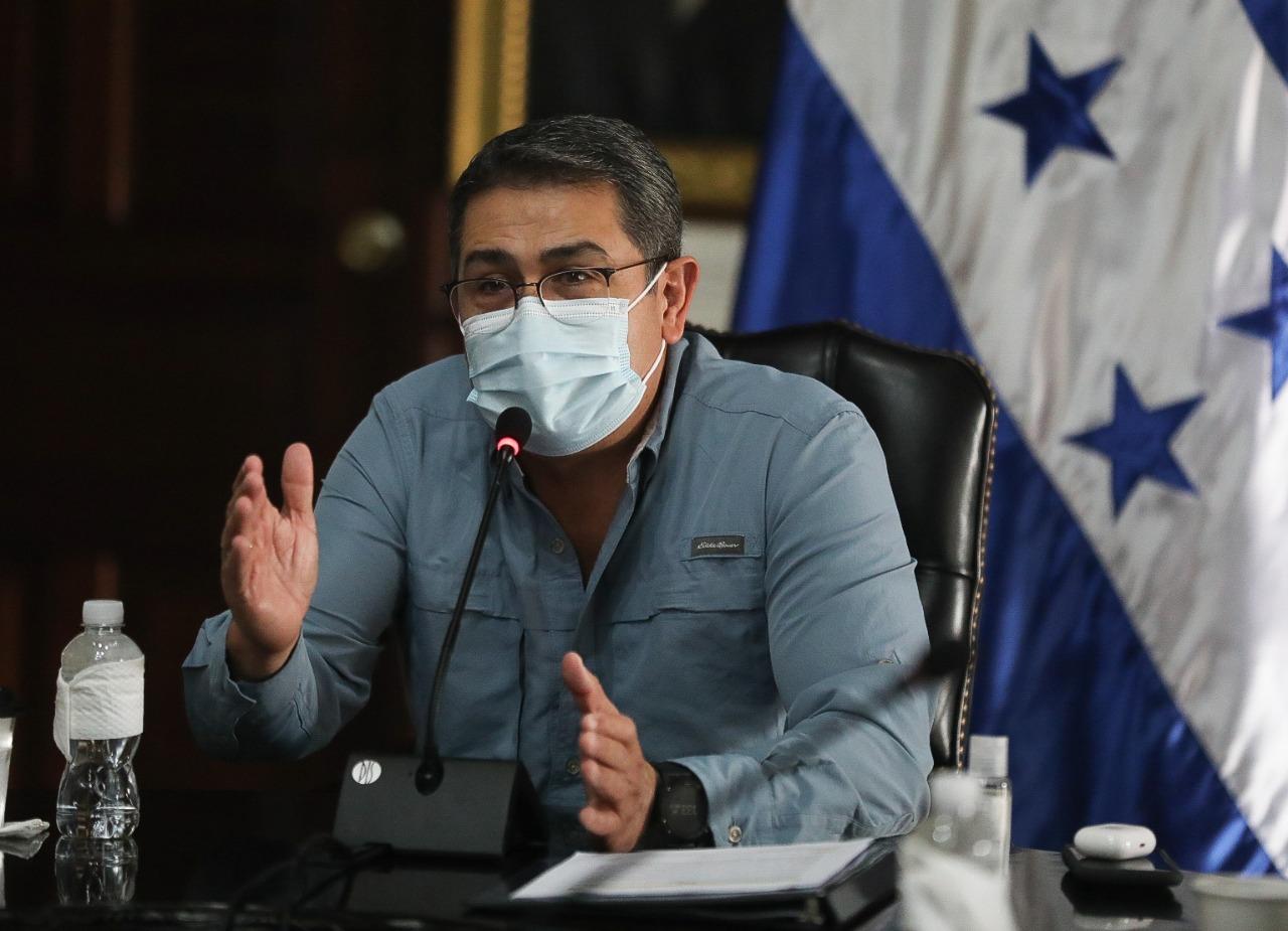 Presidente Hernández: «Nada se compara con lo que ha vivido esta generación una pandemia y dos huracanes»