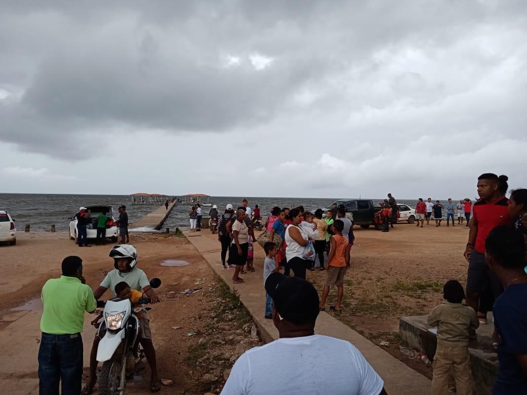 Evacuan más de 2 mil personas de zonas de alto riego en el departamento de Gracias a Dios