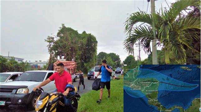 ALERTA ROJA; comienzan a evacuar Choloma y zonas aledañas ante la llegada de Iota