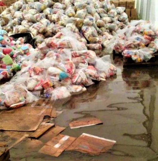 ¡En Abandono! ayuda humanitaria donada por El Salvador