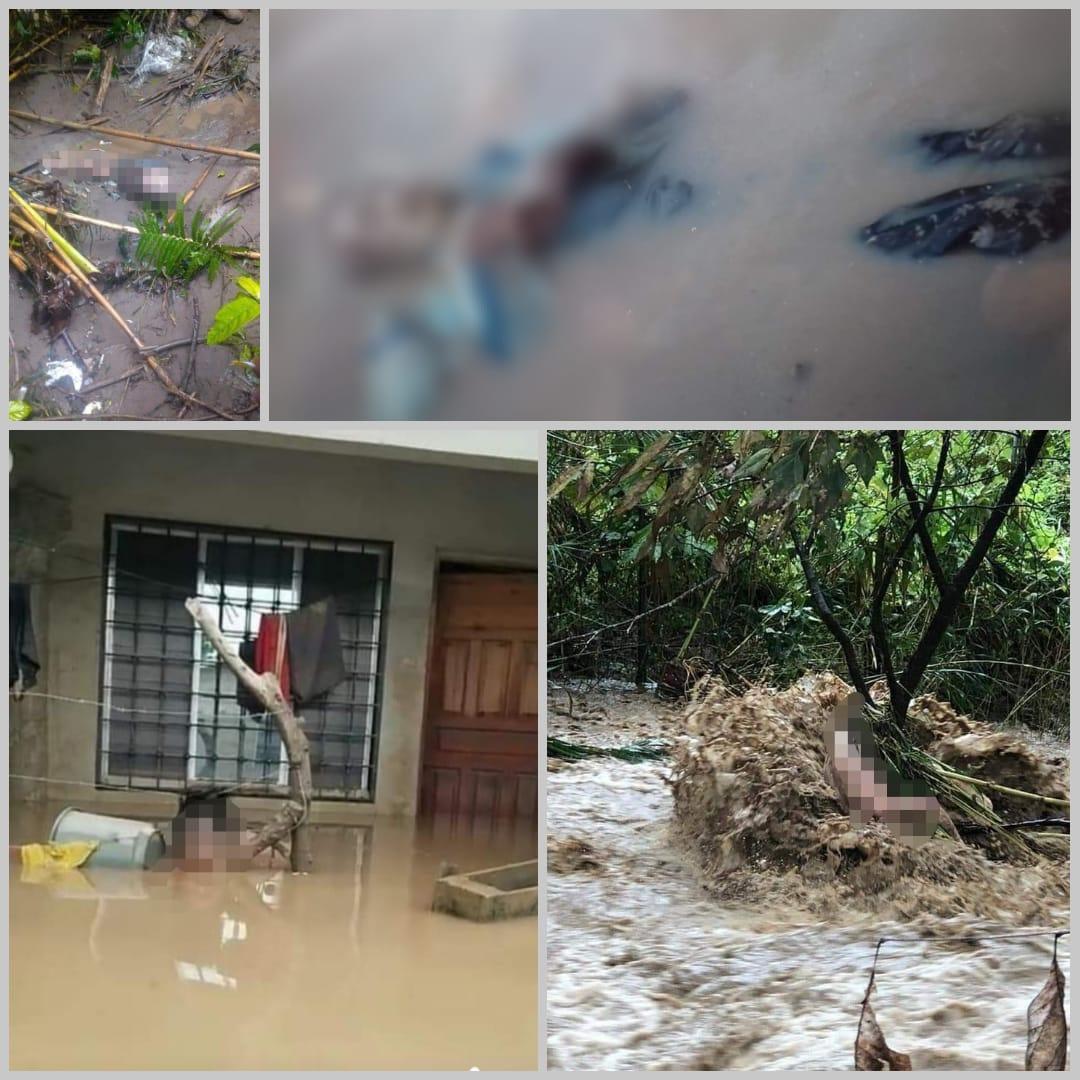 ¡Imágenes Perturbadoras! Continúan los hallazgos de víctimas de Eta en la zona norte de Honduras