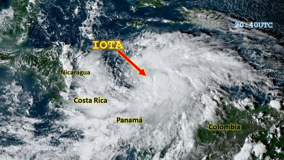 Iota ya es un huracán categoría 4 y amenaza Centroamérica