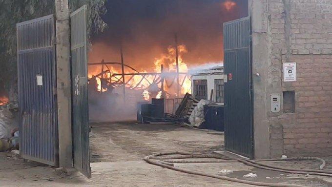 Tres muertos en incendio de fábrica de juegos pirotécnicos en Guatemala