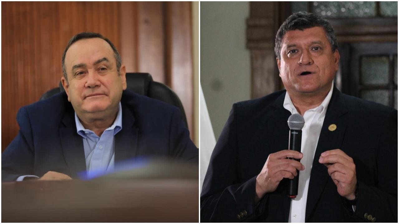 Vicepresidente guatemalteco pide renuncia conjunta al presidente Alejandro Giammattei