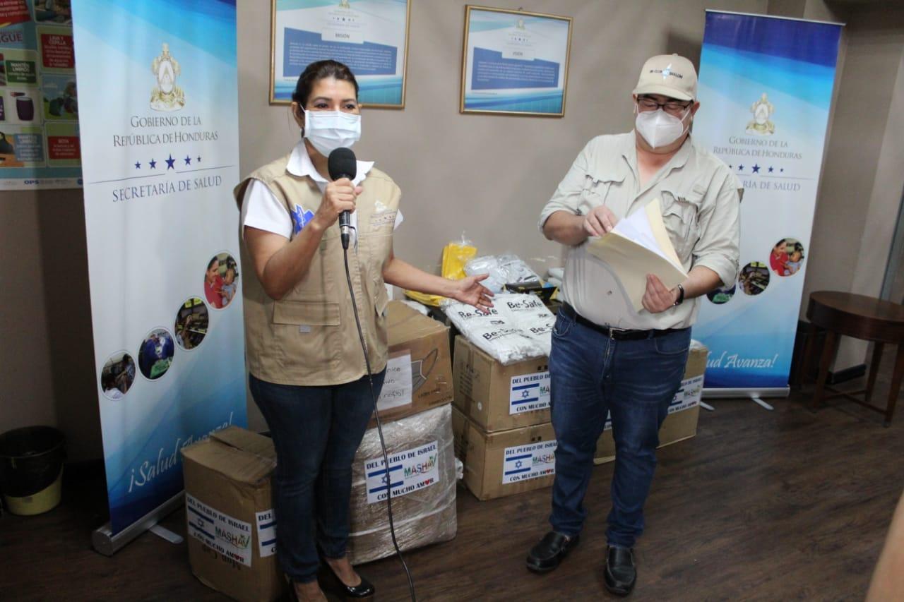 Viceministro de Salud: «Hemos recibido una donación de equipo e insumos para atender en esta emergencia»