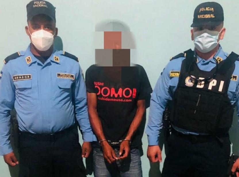 Capturan a sospechoso de violación en perjuicio de una dama en Olancho