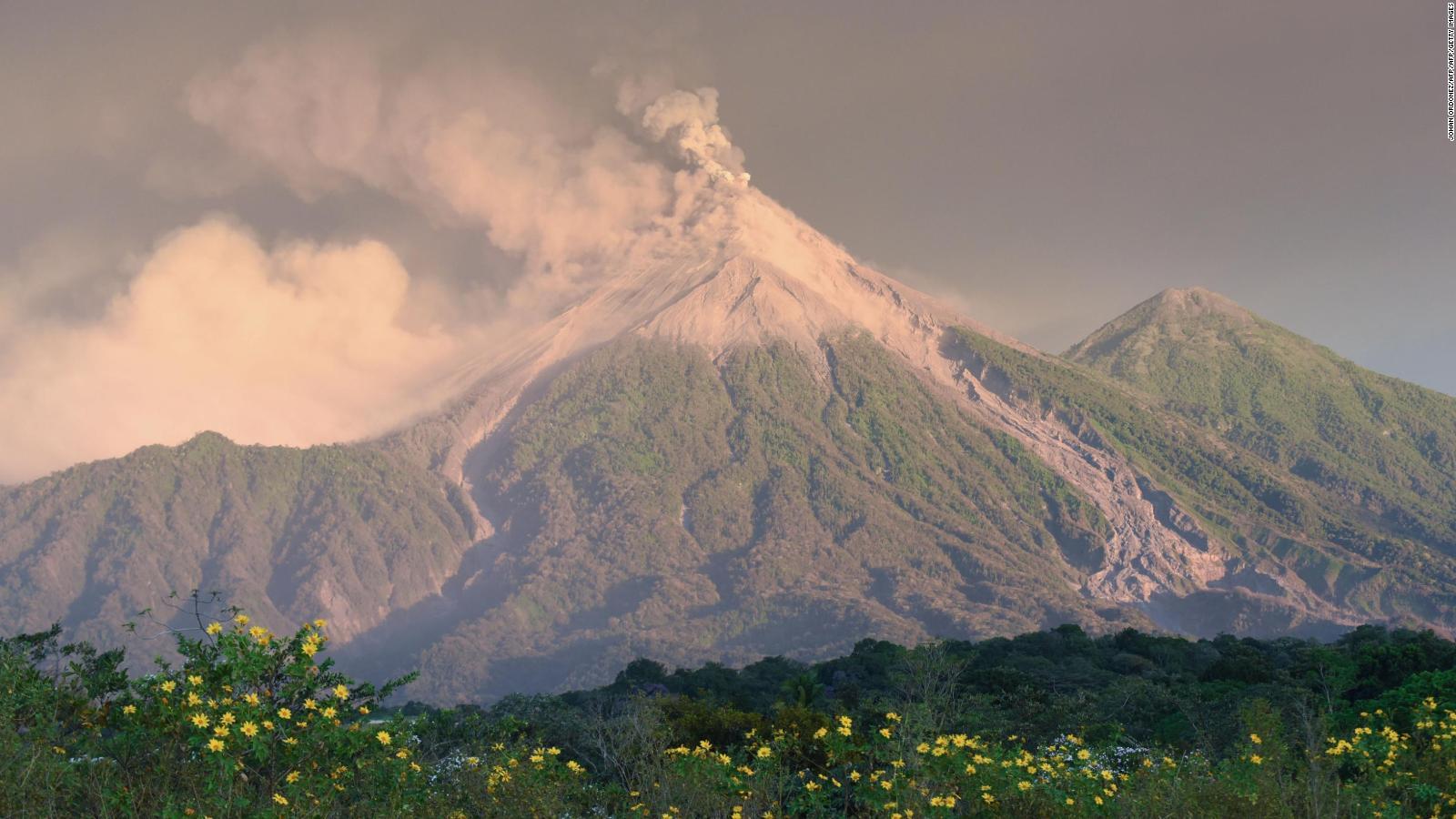 Volcanes en Centroamérica